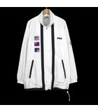 プリンス Prince ヴィンテージ テニス ジャケット ウインドブレーカー M 白 ホワイト