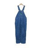 キイ KEY 大きいサイズ パンツ オーバーオール デニム 50 青 ブルー