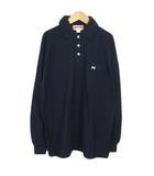 マックレガー マクレガー McGREGOR ビンテージ ポロシャツ 長袖 コットン XL 紺 ネイビー
