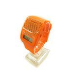 ビームス BEAMS トーキング ウォッチ 腕時計 デジタル オレンジ CR2025 ☆CA7☆ /ny0311