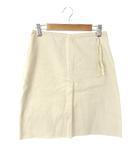 メゾン マルタン マルジェラ Maison Martin Margiela スカート 台形 ひざ丈 38 ベージュ /JN15