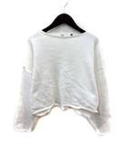 ダブルスタンダードクロージング ダブスタ DOUBLE STANDARD CLOTHING ニット セーター 長袖 ボートネック 36 白 ホワイト /YI
