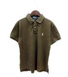 ポロ バイ ラルフローレン Polo by Ralph Lauren ポロシャツ 半袖 鹿の子 L 茶 ブラウン /YI