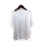 B&Y ユナイテッドアローズ BEAUTY&YOUTH ビューティー&ユース カットソー Tシャツ 半袖 白 ホワイト /YI