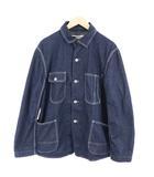 オムニゴッド OMNIGOD ジャケット カバーオール デニム Gジャン ジージャン 4 青 ブルー /RI14