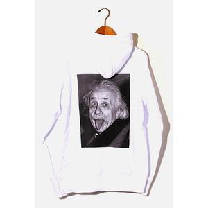 未使用品 2020AW sacai サカイ 20-0114S Einstein Hoodie アインシュタイン フーディ パーカー 2 WHITE 白