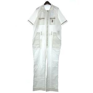 Daytona 世田谷ベース JAM CRACKER RECORD つなぎ オールインワン ジャンプスーツ 半袖 ホワイト XL 210408E メンズ