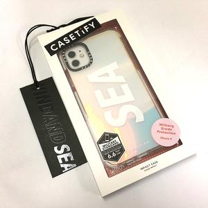 未使用品 ウィンダンシー WIND AND SEA ★AA☆Casetify x WDS SIGNATURE(SEA) CASE / Iridescent (CSTF-21-01-1) iPhone 11 メンズ レディース