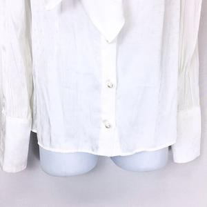 ミルク MILK スター ブラウス シャツ 長袖 M11CB15 白 ホワイト  レディース