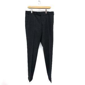 マーガレットハウエル MARGARET HOWELL パンツ スラックス ストレート ウール XL 紺 ネイビー /MF13 メンズ