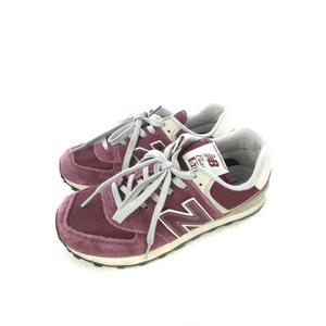 ニューバランス NEW BALANCE スニーカー 靴 シューズ ML574VWI スウェード ローカット ワインレッド 25cm メンズ
