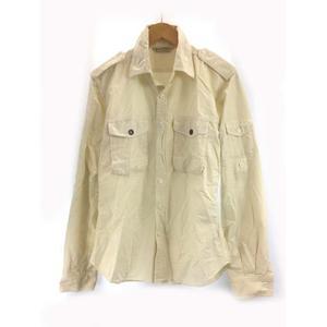 ジャーナルスタンダード JOURNAL STANDARD カバーオール ジャケット 胸ポケット M オフホワイト SSS8 メンズ