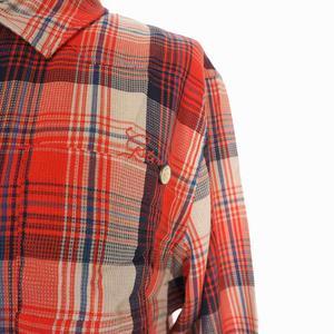 未使用品 ジースターロウ G-Star RAW LANCER BFF SHRT スナップボタン バスケットチェックシャツ 長袖 M マルチカラー 93631C-5946-3001 国内正規 レディース