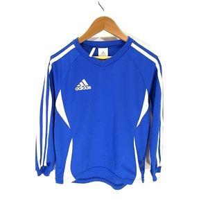 アディダス adidas Tシャツ カットソー 半袖 スポーツ ウェア ライン プリント 子供服 キッズ 130 国内正規 キッズ