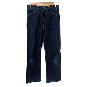 ラングラー WRANGLER パンツ デニム ジーンズ ストレート ロング 30 紺 ネイビー /NS14 メンズ
