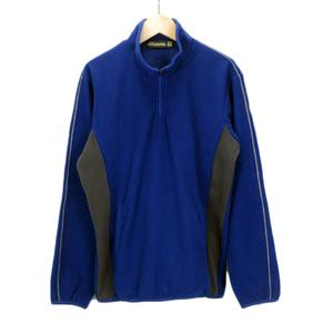 ミズノ MIZUNO グローバルエリート ストレッチフリースジャケット 12JE6K91 S 青 ブルー メンズ