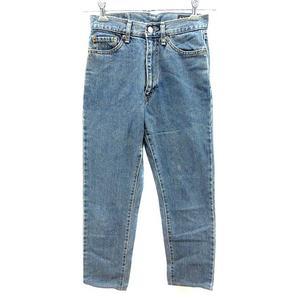 ボブソン BOBSON 521 パンツ デニム ジーンズ ロング W28 L34 青 ブルー /YK レディース